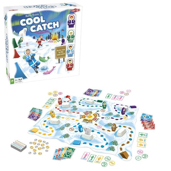 Cool Catch - Family - Kids Board Game By Tactic Games